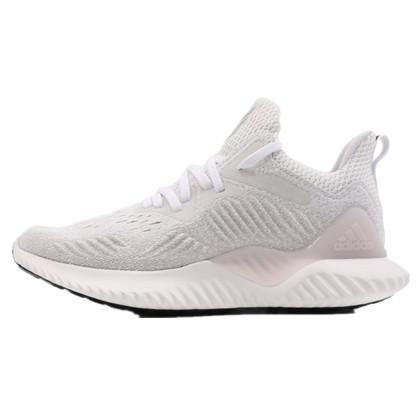 Adidas阿迪达斯女鞋2018秋季网面运动鞋Bounce小椰子跑步鞋 B76048 灰色