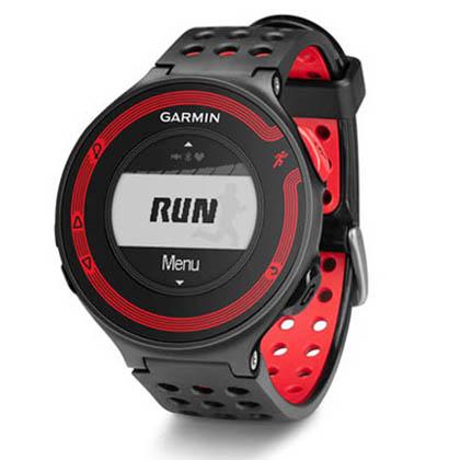 Garmin佳明Forerunner220跑步腕表心率//GPS/彩屏/蓝牙 经典黑红 国行中文版(带心率带)