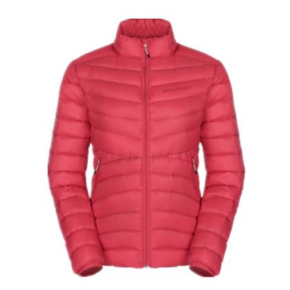 HIGHROCK天石冬季户外运动短款轻薄羽绒服 鹅绒衣女款V006 红色