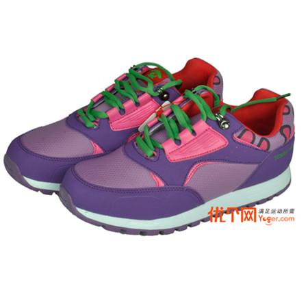 探路者TOREAD徒步鞋TAEJ55305 露莓紫 迷你印花舒适儿童徒步鞋