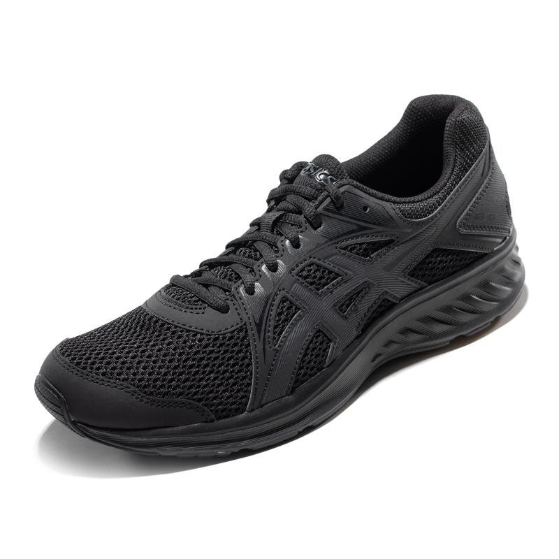 ASICS亚瑟士 男缓冲跑步鞋轻便运动跑鞋 JOLT 2 1011A167-003 黑色/深灰色