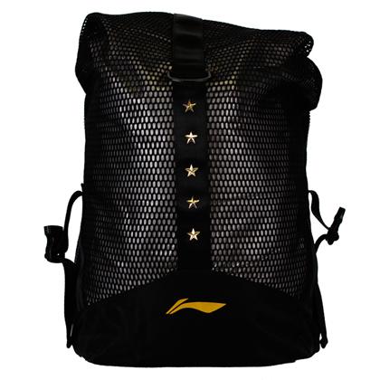 李宁羽毛球双肩包 ABLS356-1 黑色(国家队的选择)