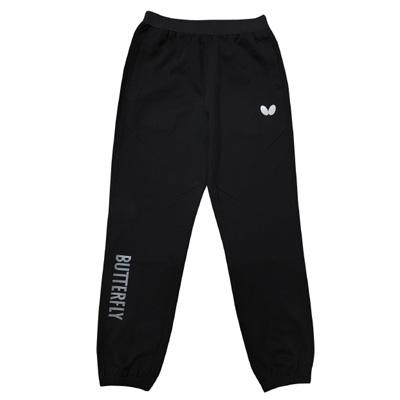 蝴蝶Butterfly BWS-620-02 运动长裤 男女通用款 黑色