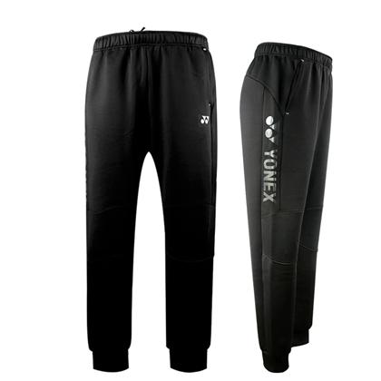 尤尼克斯YONEX长裤 160219BCR男款黑色长裤 束口设计