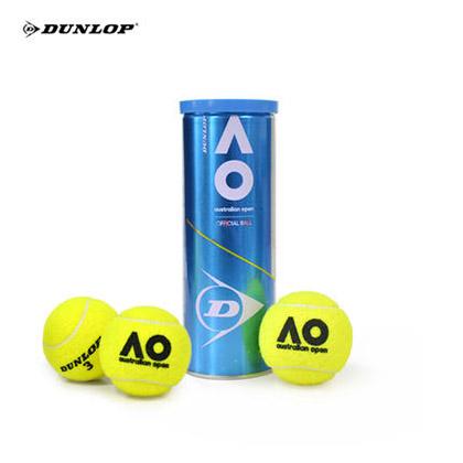 DUNLOP/鄧祿普 澳網比賽用球 19年澳網公開賽官方比賽網球 鐵罐3粒裝601353