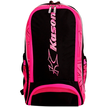 凱勝KASON 羽毛球包 FBJM006 黑/紅 雙肩羽毛球包 雙肩男女雙肩運動 旅行包 休閑包
