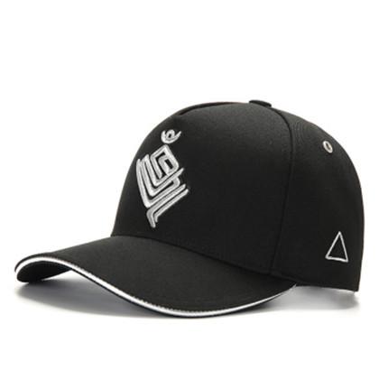 GC岗措棒球帽 喜马拉雅文化原创品牌 金翅大鹏 黑布银标 男女通用运动户外帽子棒球帽 刺绣