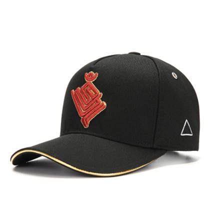 GC岗措棒球帽 喜马拉雅文化原创品牌 金翅大鹏 黑布红标 男女通用运动户外帽子棒球帽 刺绣