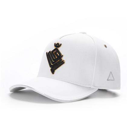 GC岗措棒球帽 喜马拉雅文化原创品牌 金翅大鹏 白布黑标 男女通用运动户外帽子棒球帽 刺绣
