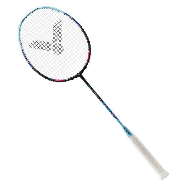 胜利Victor羽毛球拍 极速3 JS3/JS-3 速度型精准类球拍 球拍重量均衡量,中杆软硬适中