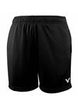 胜利VICTOR R-6299C 中性款运动短裤 经典黑色略薄款 速干排汗