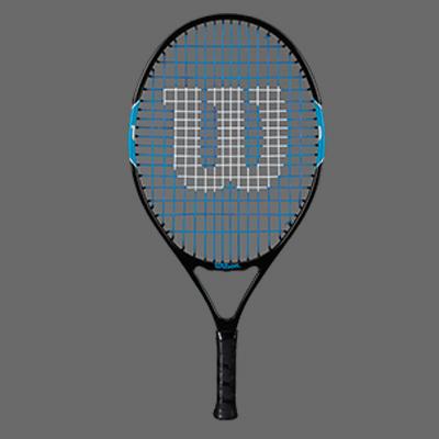 WILSON维尔胜网球拍 (W2086)Ultra Team 21 儿童青少年初学 入门 网球拍 适合7岁左右的儿童