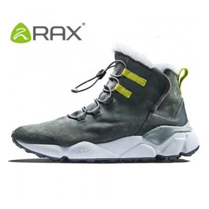 RAX 户外雪地靴男保暖防寒鞋耐磨滑雪鞋加绒雪地鞋雪鞋