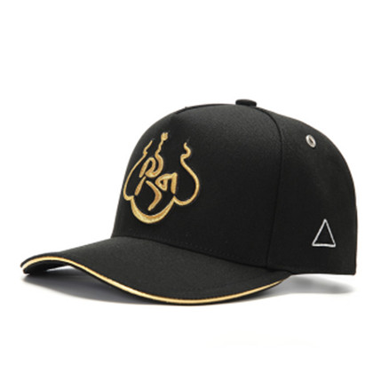 GC岗措棒球帽 喜马拉雅文化原创品牌 金色 莲花 男女通用款户外帽子棒球帽 帽围可调节!