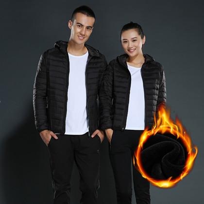 CENPIN/诚品轻薄透气保暖防风男女款外套棉衣 时尚轻薄