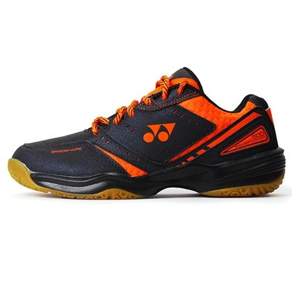 尤尼克斯YONEX 羽毛球鞋 SHB500CR 黑橙色 男款 训练比赛用鞋 防滑减震