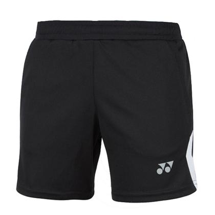 尤尼克斯YONEX 羽毛球短褲 220189BCR-007 黑色 女款 團隊款基礎短褲