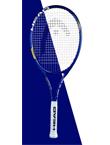 HEAD海德 (H2342002)单人初学者男女大学生网球拍 Spark MX Tour 蓝色