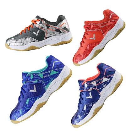 胜利VICTOR儿童羽毛球鞋 SHA362JR (耀眼蓝/水蓝 烟黑/亮银)双色可选 专业儿童羽毛球鞋