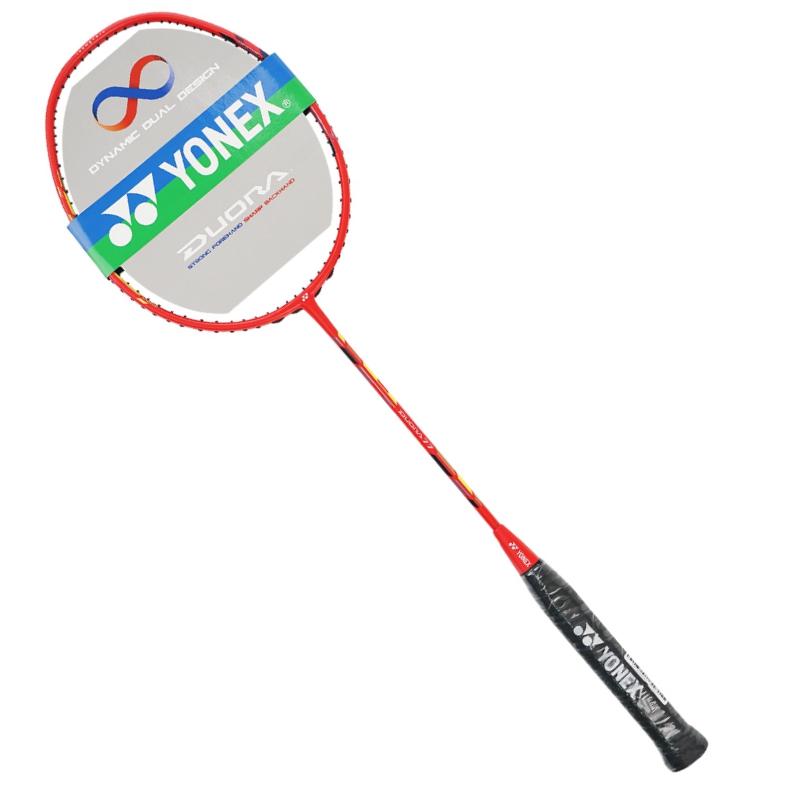 YONEX尤尼克斯双刃77/Duora77羽毛球拍 红白/白黄 双色可选只售正品行货,可二维码查验真伪