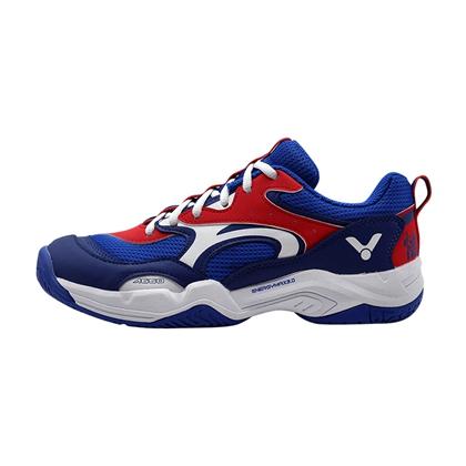 胜利VICTOR 羽毛球鞋 SH-A650-FD 航海蓝/鲜红 悟空羽毛球鞋 全面型球鞋 致敬经典 回归璞真