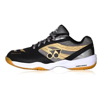 尤尼克斯YONEX羽毛球鞋 SHB100CR 黑色 中性款(品牌入门级战靴)