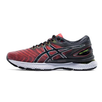 亚瑟士ASICS跑步鞋 GEL-NIMBUS 22男缓震长距离跑鞋 1011A680-601 黑红