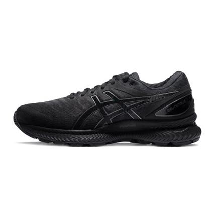 亞瑟士ASICS跑步鞋 GEL-NIMBUS 22男緩震長距離跑鞋 1011A680-002 黑色