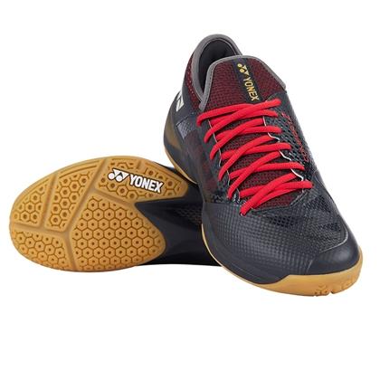 YONEX 尤尼克斯 SHB-CFZ2MEX 男款 黑红色 林丹新款战靴,CFZ二代,超减震
