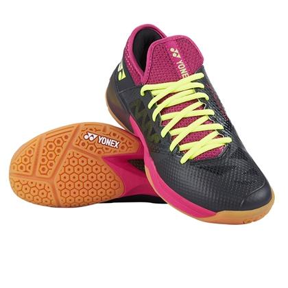 YONEX 尤尼克斯 SHB-CFZ2LEX (CFZL二代)女款 黑粉色 林丹新款同款战靴 超减震