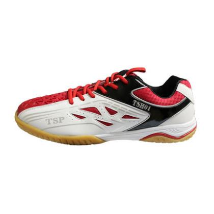 TSP大和乒乓球鞋 83802 TSP专业乒乓球鞋 男女通用款 白红