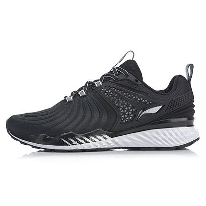 李宁跑步鞋 云五代V2 ARHP013-1 男 标准白/标准黑(云减震,莱卡压立体后跟)