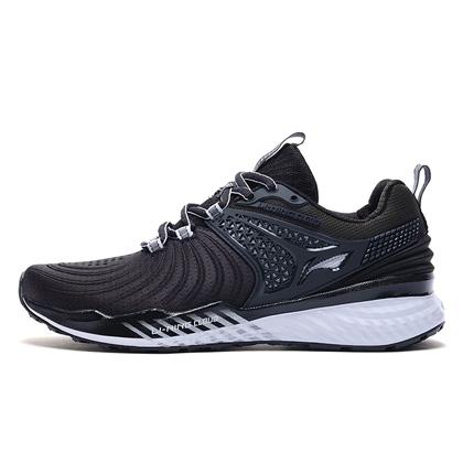 李寧跑步鞋 云五代V2 ARHP008-6 女 標準白/標準黑(云減震,萊卡壓立體后跟)