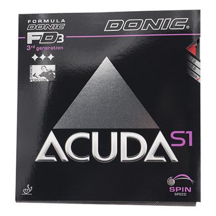 多尼克DONIC ACUDA S1反胶套胶FD3 方程式套胶3代 12081