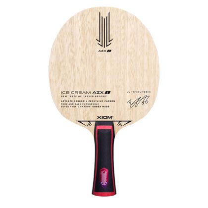 骄猛XIOM两面异质冰淇淋 Ice Cream AZXi 冰激凌乒乓球拍底板 内置纤维