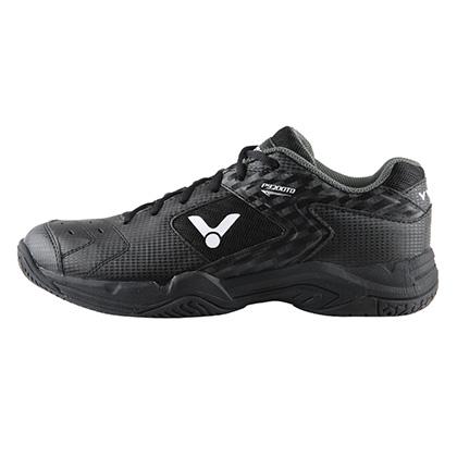 胜利VICTOR羽毛球鞋 P9200TD-C 男/女款 黑色稳定型宽楦羽毛球鞋(低调素雅型男战靴)