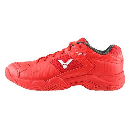 胜利VICTOR羽毛球鞋 P9200TD-D 男/女款 红色稳定型宽楦羽毛球鞋(活力四色款战靴)