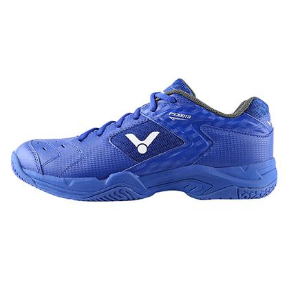 勝利VICTOR羽毛球鞋 P9200TD-F 男/女款 藍色穩定型寬楦羽毛球鞋(紳士優雅款戰靴)