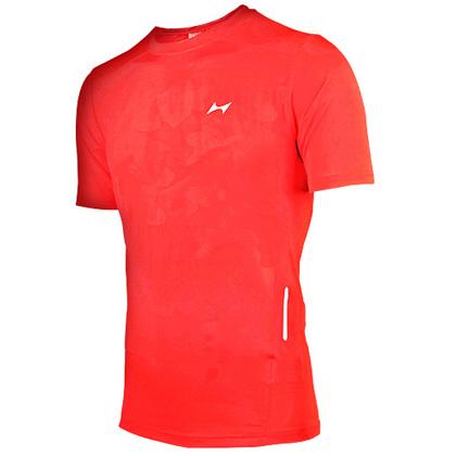 海尔斯跑步T恤 TX-0004 红色 男款(跑团团购款,性价比之选)