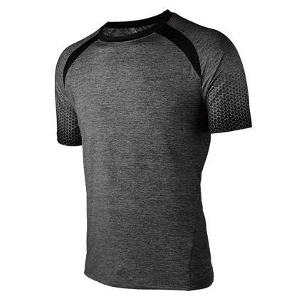 海尔斯跑步T恤 TX-0005 灰色 男款(跑团团购款,性价比之选)