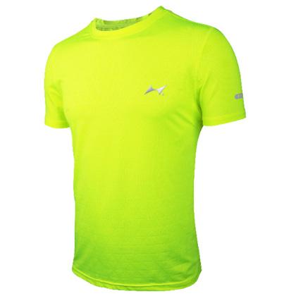 海尔斯跑步T恤 TX-0006 荧光绿 男/女款(跑团团购款,性价比之选)