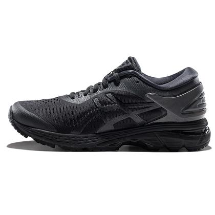 亚瑟士ASICS跑步鞋 KAYANO25(K25)女稳定支撑跑鞋 1012A026-002 黑色