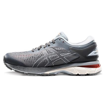 亚瑟士ASICS跑步鞋 KAYANO25(K25)女稳定支撑跑鞋 1012A026-020 灰色