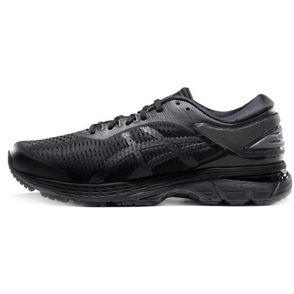 亚瑟士ASICS跑步鞋 KAYANO25(K25)男稳定支撑跑鞋 1011A019-002 黑色/黑色