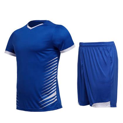 范斯蒂克运动套装 MAT1815503 男 蓝拼白(适合跑步/羽毛球/乒乓球等多项运动)