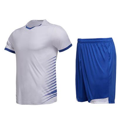范斯蒂克运动套装 MAT1815504 男 白拼蓝(适合跑步/羽毛球/乒乓球等多项运动)
