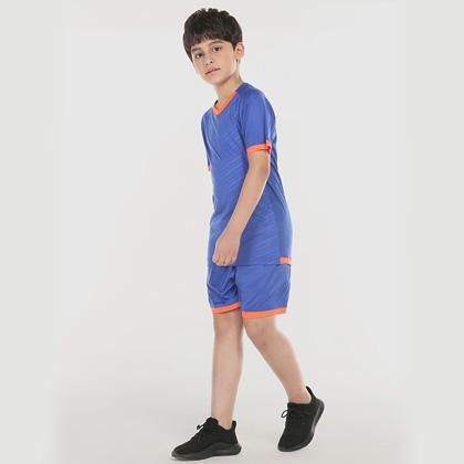 范斯蒂克儿童运动套装 BAT1800405 彩蓝色(适合跑步/羽毛球/乒乓球等多项运动)