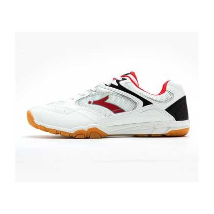 速博特专业乒乓球鞋 飞龙 乒乓球鞋 男款 白/红 专业运动鞋 ST27003 防滑透气