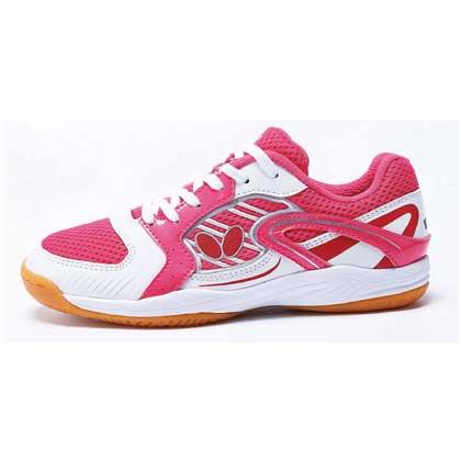 蝴蝶Butterfly CHD-3 16儿童乒乓球鞋 粉色