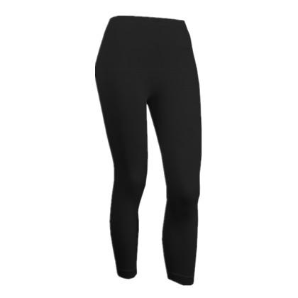 TITTALLON 中性无缝跑步裤快干弹力面料,吸湿排汗特性,除异味。黑色